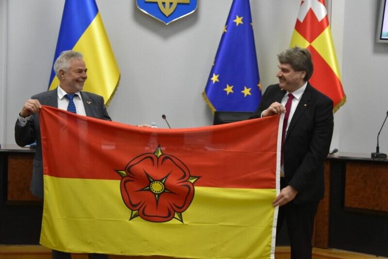 П'ять років партнерства відзначають Луцьк та край Ліппе (Німеччина)