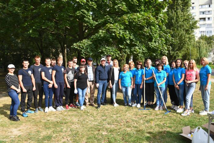 У Луцьку відбувся «World Cleanup Day»