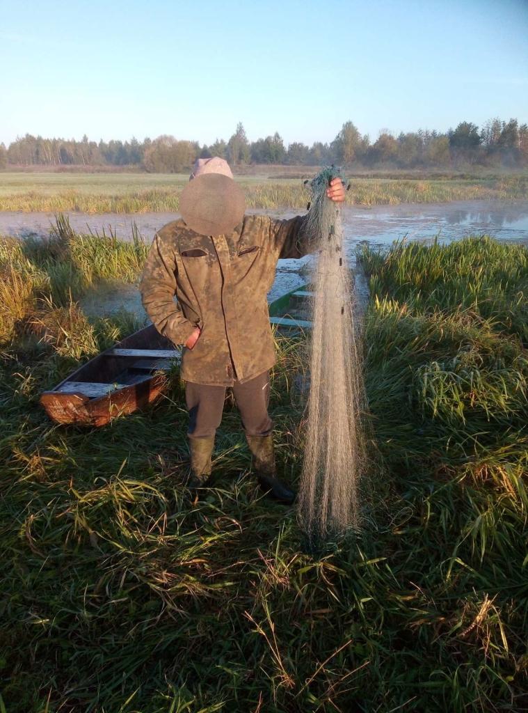 За минулий тиждень рибпатруль на Волині викрив 14 разів порушень природоохоронного законодавства