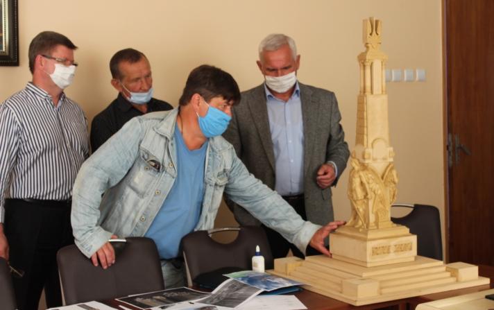 Яким буде пам'ятник захисникам України у Нововолинську