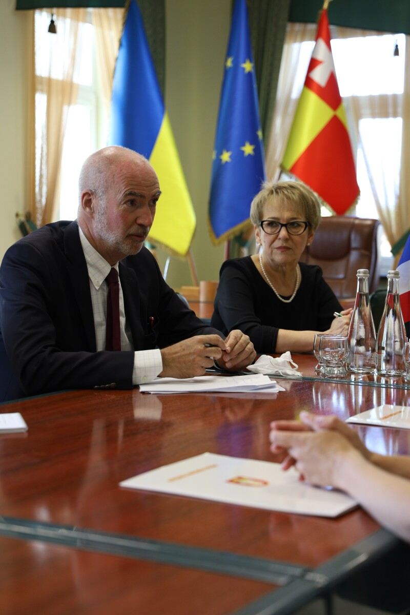Міська влада Луцька зустрілася з Надзвичайним та Повноважним Послом Французької Республіки в Україні