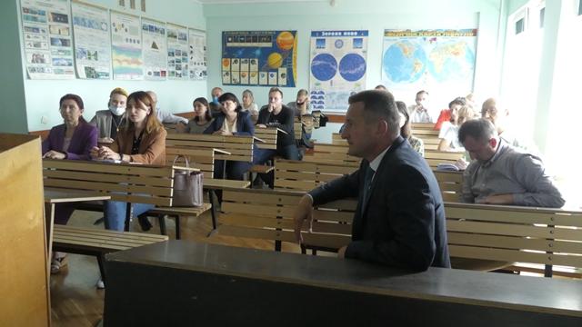 У Луцьку колектив новоствореного Медичного інституту зібрався на перші збори