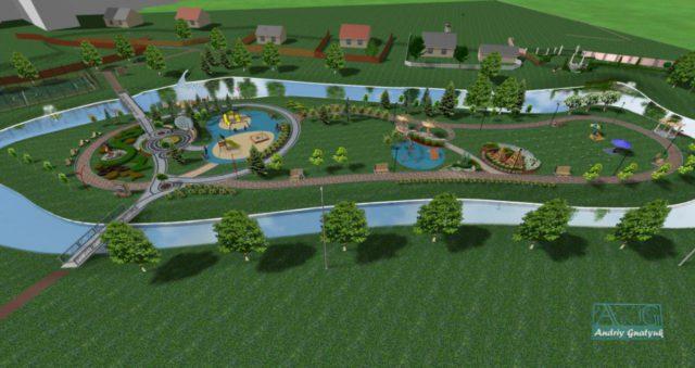 На річці Риловиця завершують облаштування рекреаційної зони