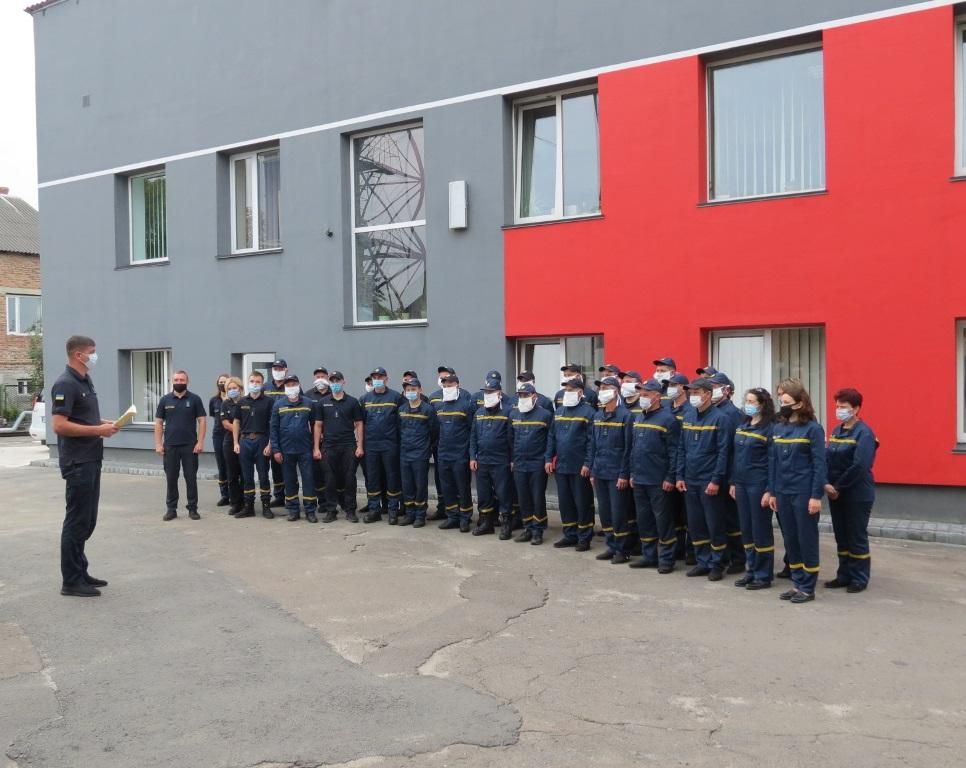 У підрозділах ДСНС на Волині відбулися урочистості з нагоди Дня рятівника