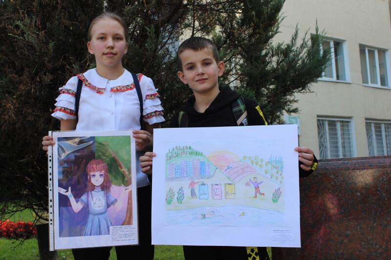 У Луцьку визначили переможців конкурсу малюнків «Чиста енергія – чисте довкілля»