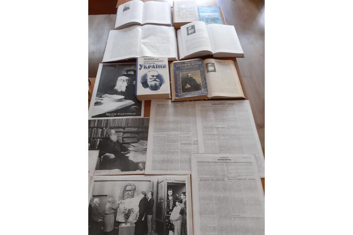У Луцьку відкрили виставку до річниці від дня народження Михайла Грушевського