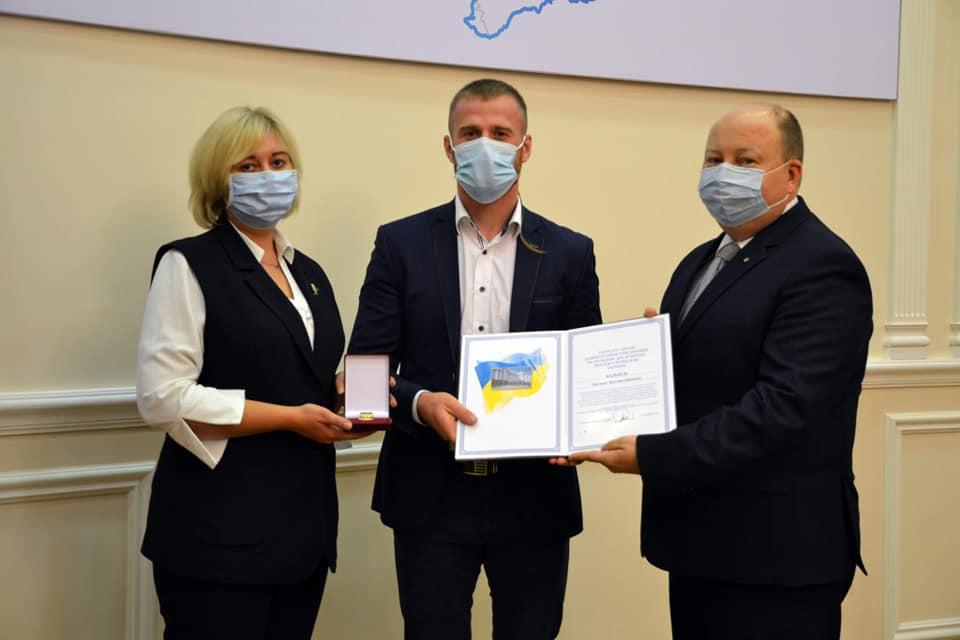 Керівнику Волинського центру національно-патріотичного виховання вручили премію Кабміну