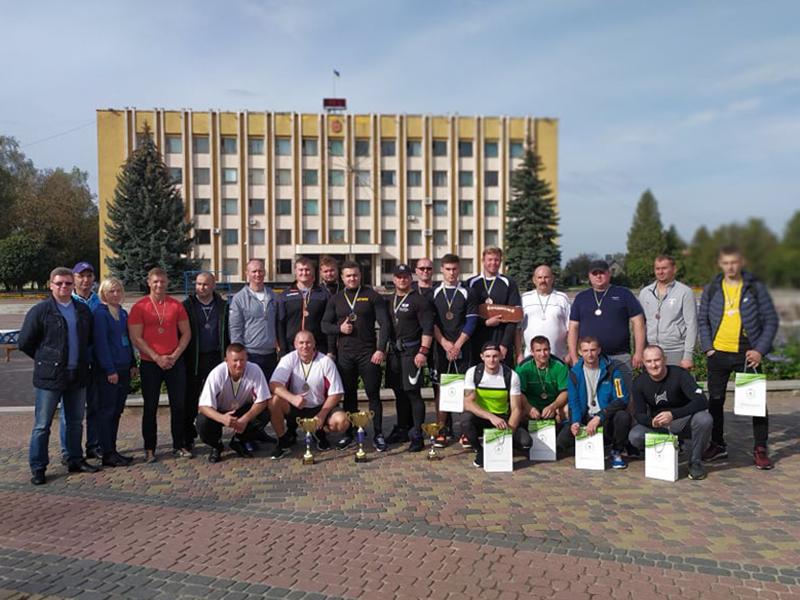 У Нововолинську нагородили переможців «Козацьких розваг»