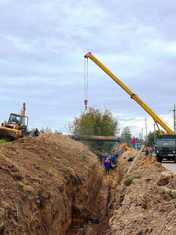 У Луцьку замінили 200 метрів аварійного водогону