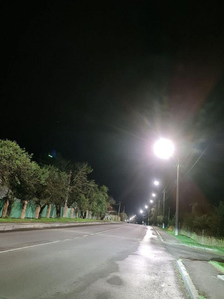 У Луцьку облаштували LED-освітлення на одній з вулиць