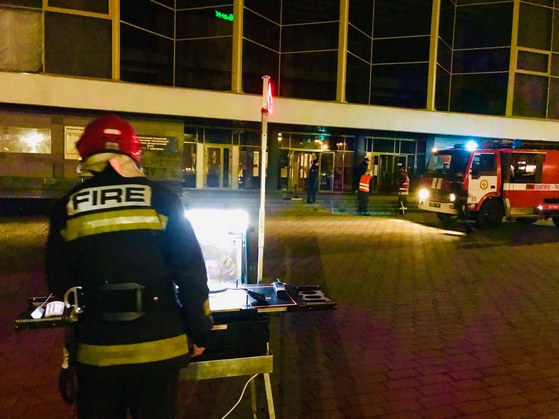 У Волинському облмуздрамтеатрі ліквідували умовну пожежу