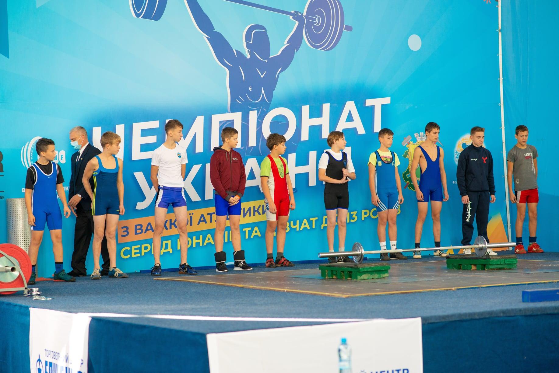 Волинські спортсмени здобули медалі на чемпіонаті України з важкої атлетики