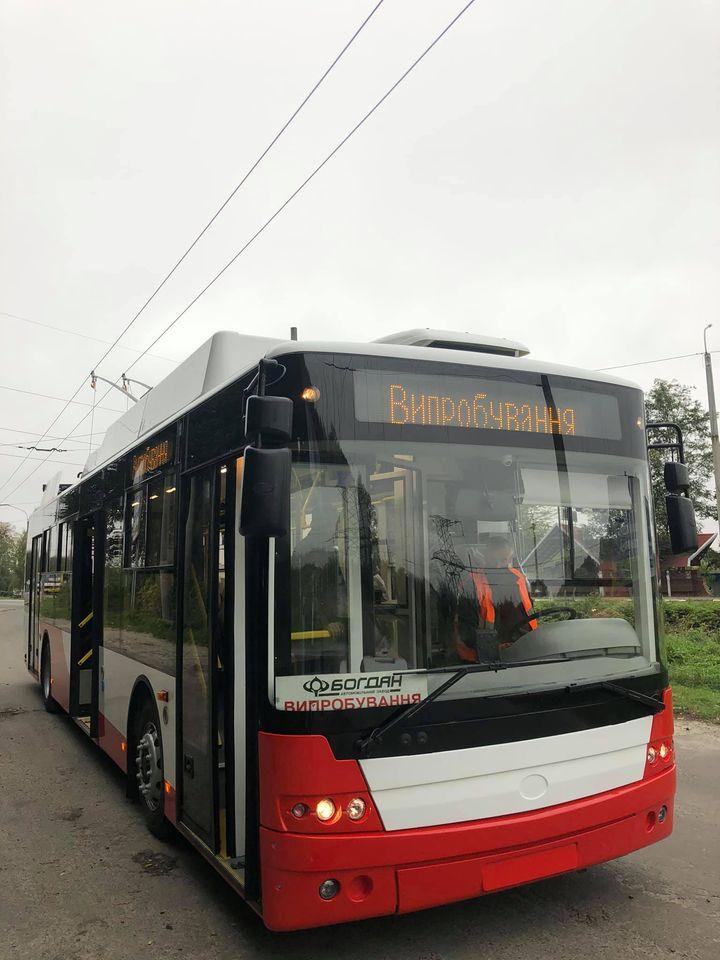 ЛПЕ невдовзі отримає нові тролейбуси