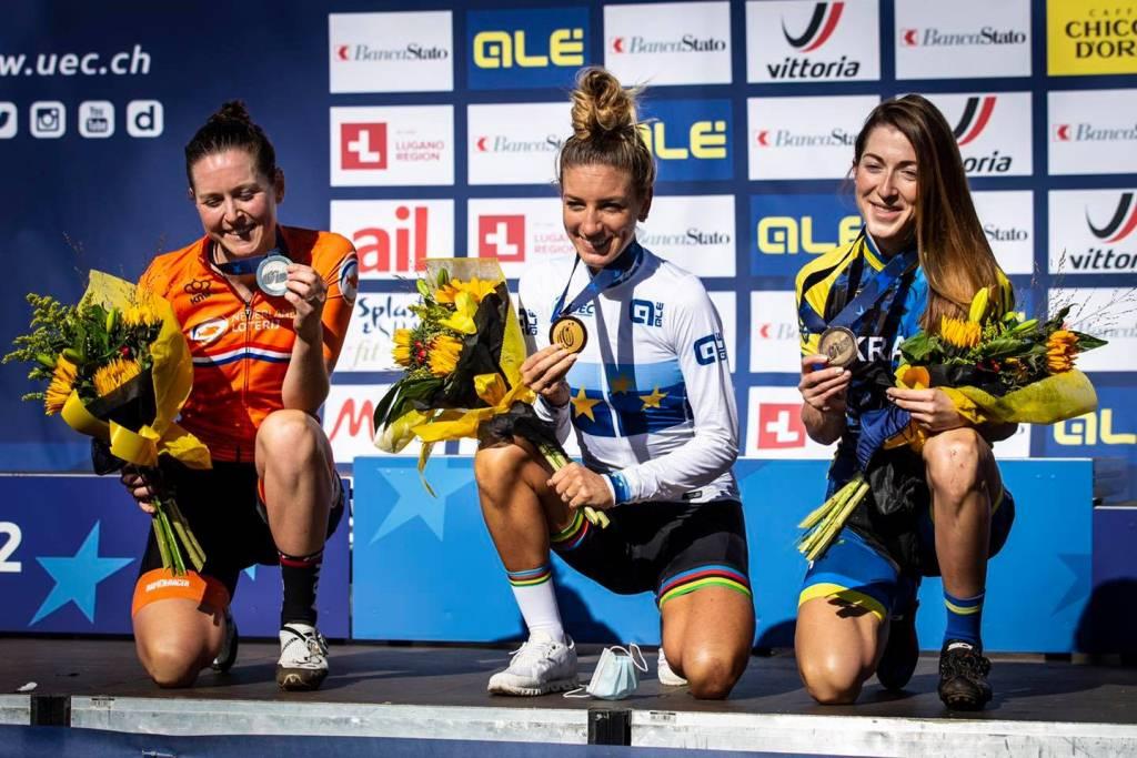 Лучанка стала призеркою чемпіонату Європи з велоспорту
