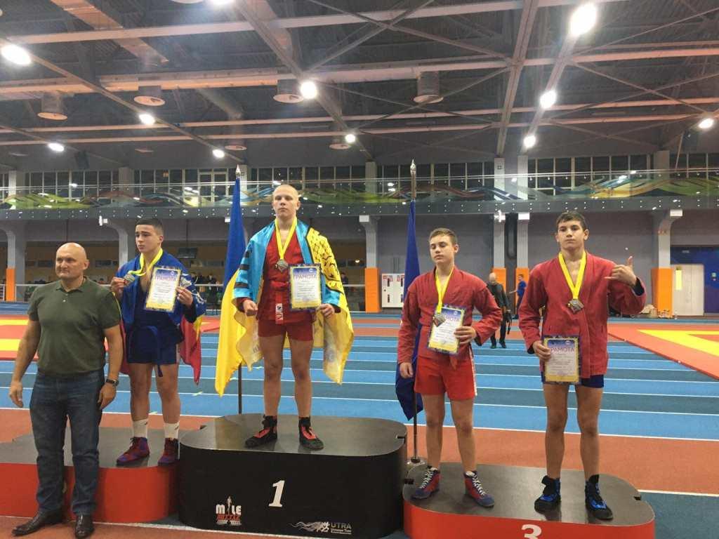 Волинські спортсмени здобули 17 медалей чемпіонату України з бойового самбо