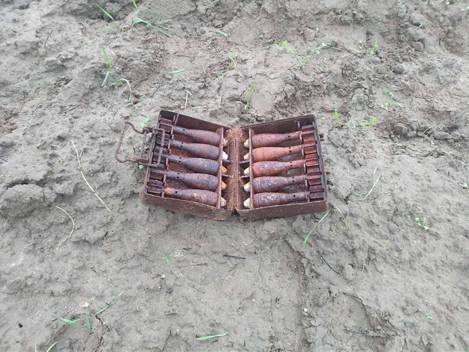 На Волині за тиждень виявили понад десяток старих боєприпасів