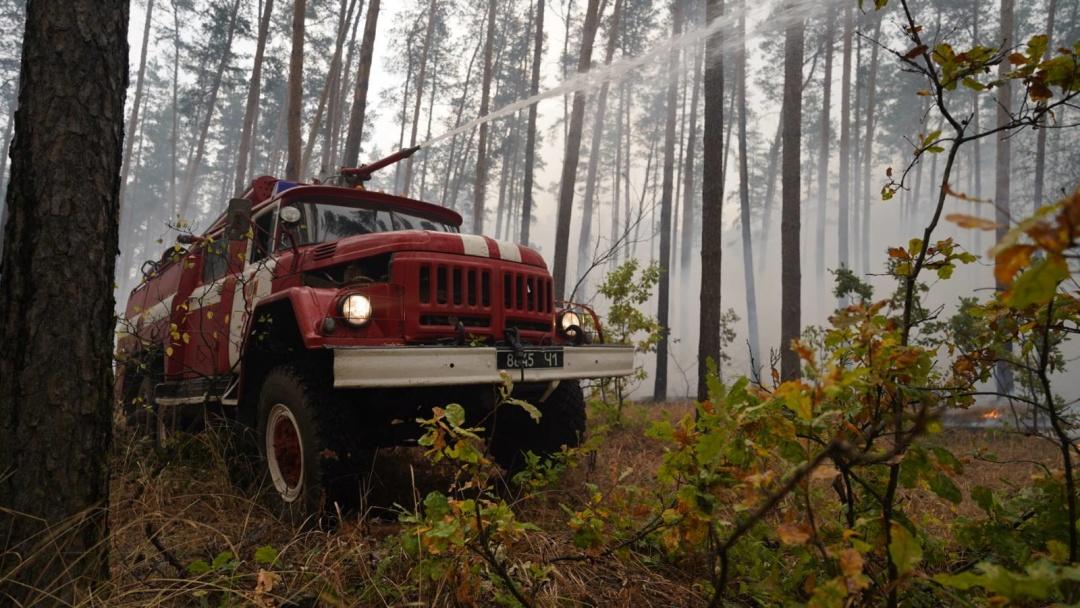 На Луганщині ліквідували сім з десяти осередків пожеж