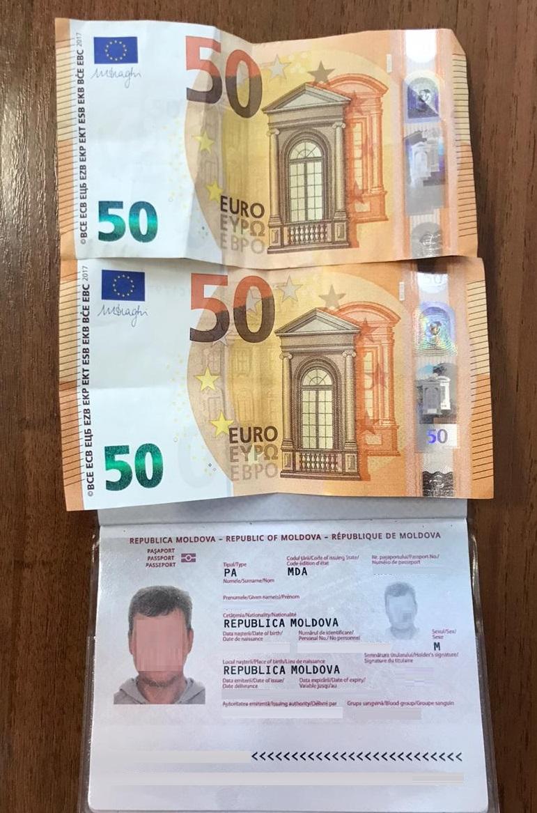 Громадянин Молдови намагався підкупити прикордонника на пункті «Ягодин»
