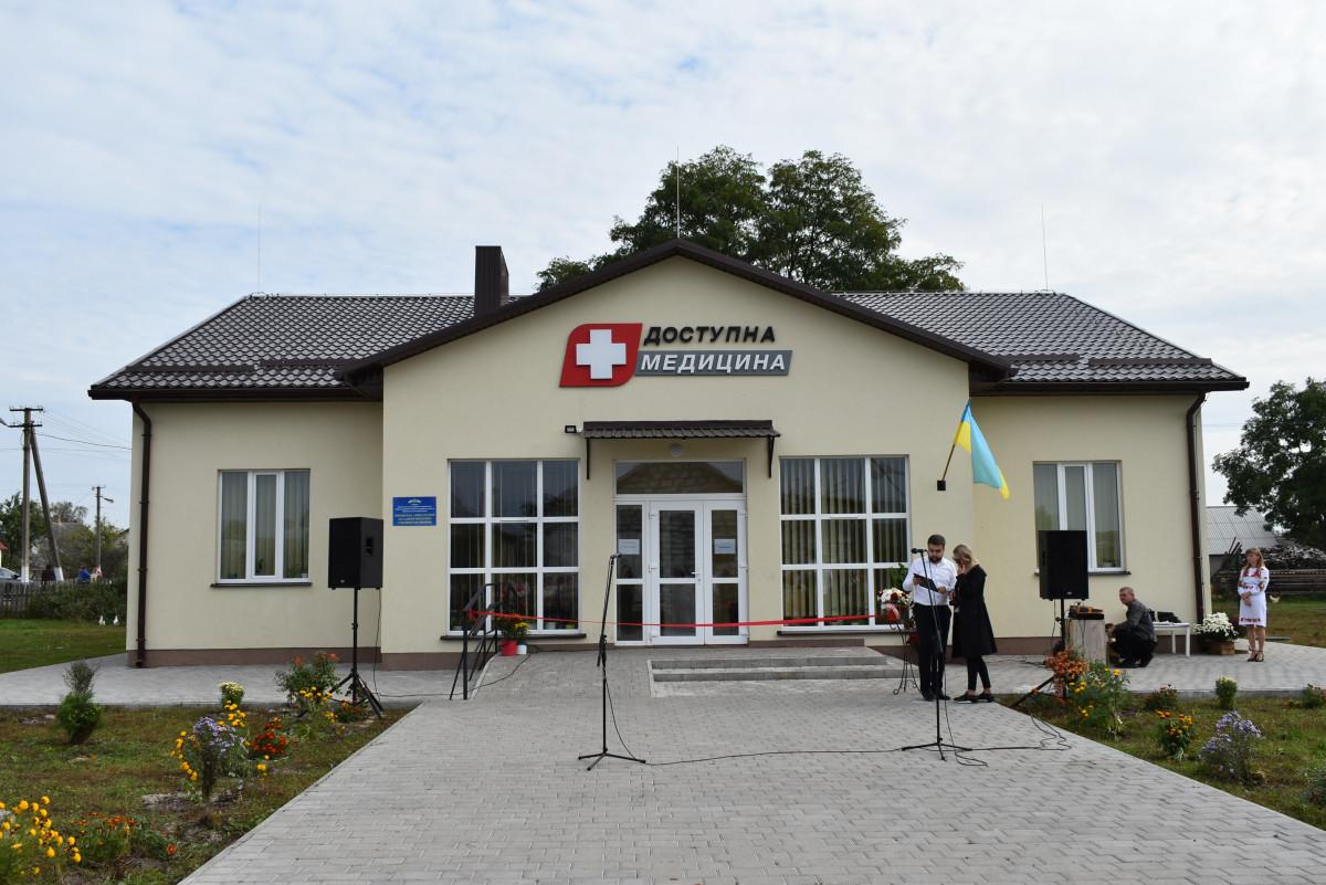 У Любешівському районі відкрили новозбудовану амбулаторію