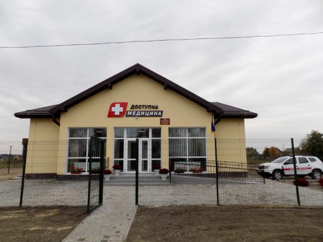 У Любешівському районі відкрили уже третю сучасну амбулаторію
