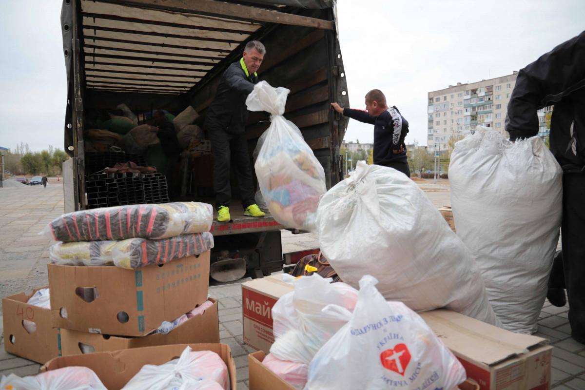 Волинська область долучилася до допомоги Луганщині