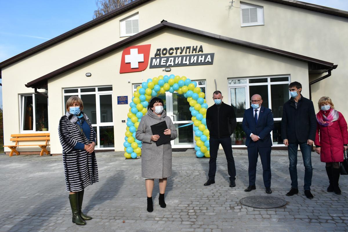 У Шацькому районі відкрили новозбудовану амбулаторію