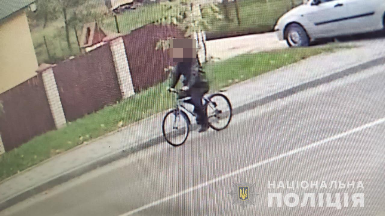 на Волині чоловік вкрав велосипед з велостоянки