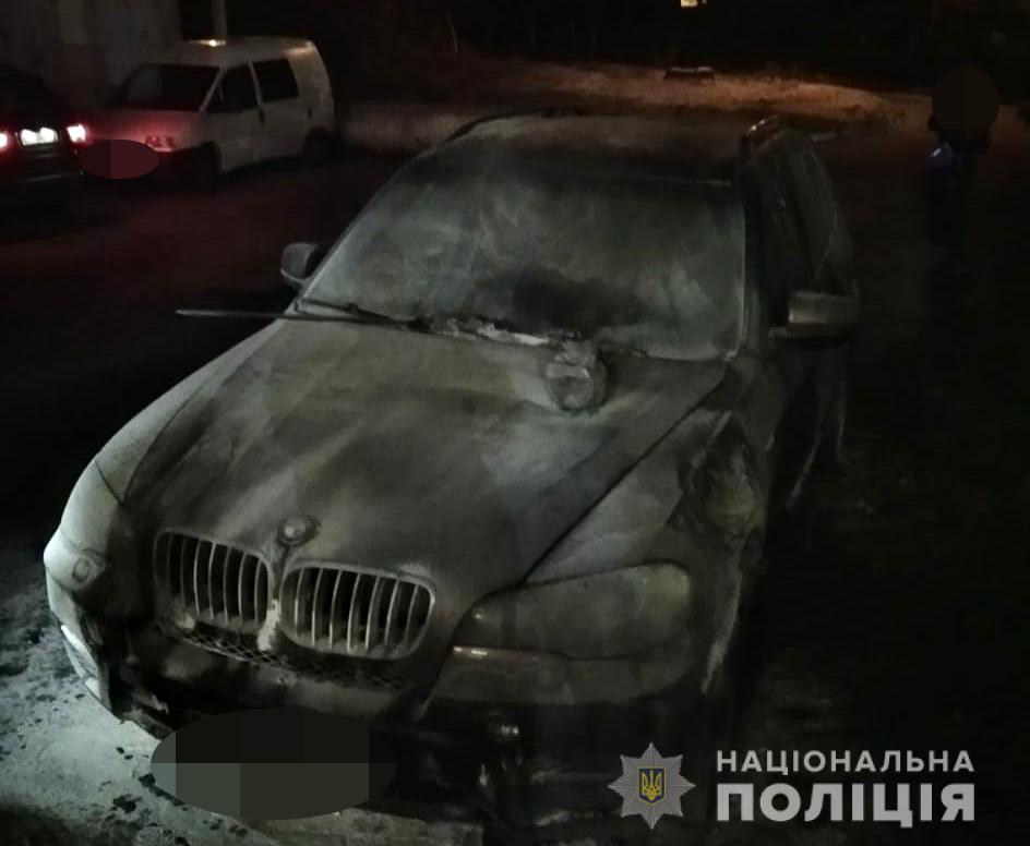 У Луцьку спалили авто