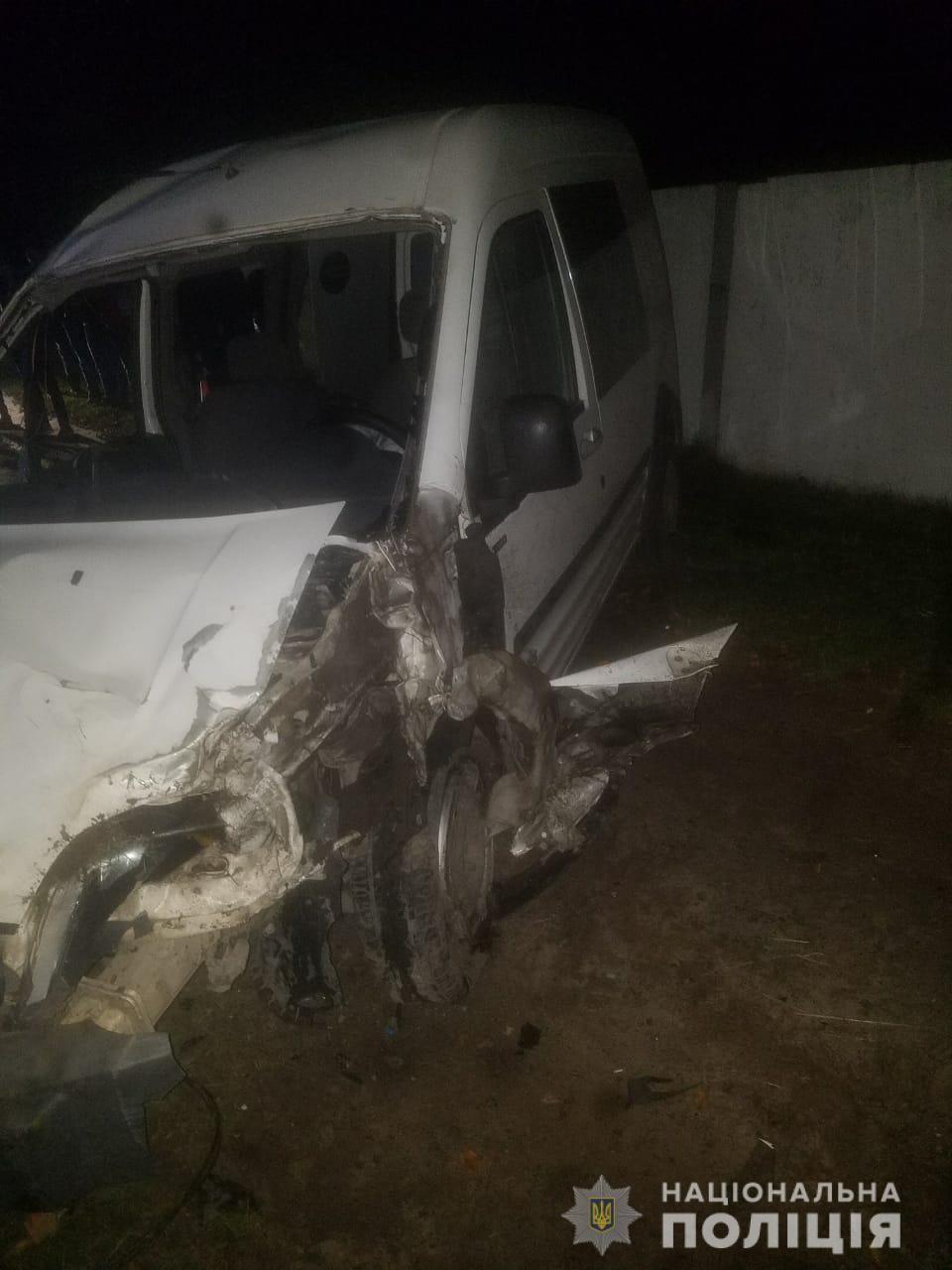 Поліція з'ясовує обставини смертельної ДТП на Волині