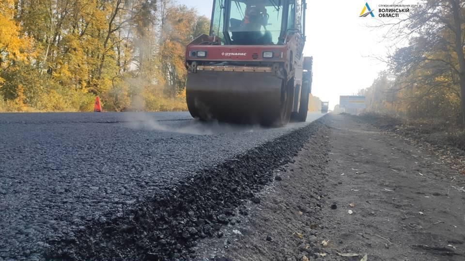 На Волині ремонтують ділянку міжнародного автошляху