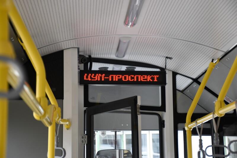 Луцьком курсуватимуть два нових та сучасних тролейбуси