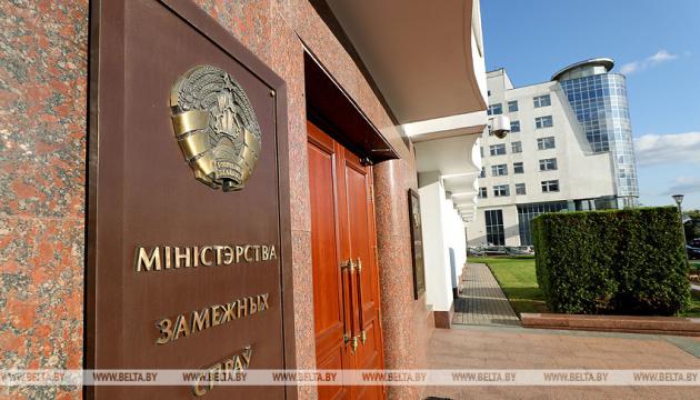 МЗС Білорусі вимагає від посольств Польщі і Литви скоротити кількість дипломатів