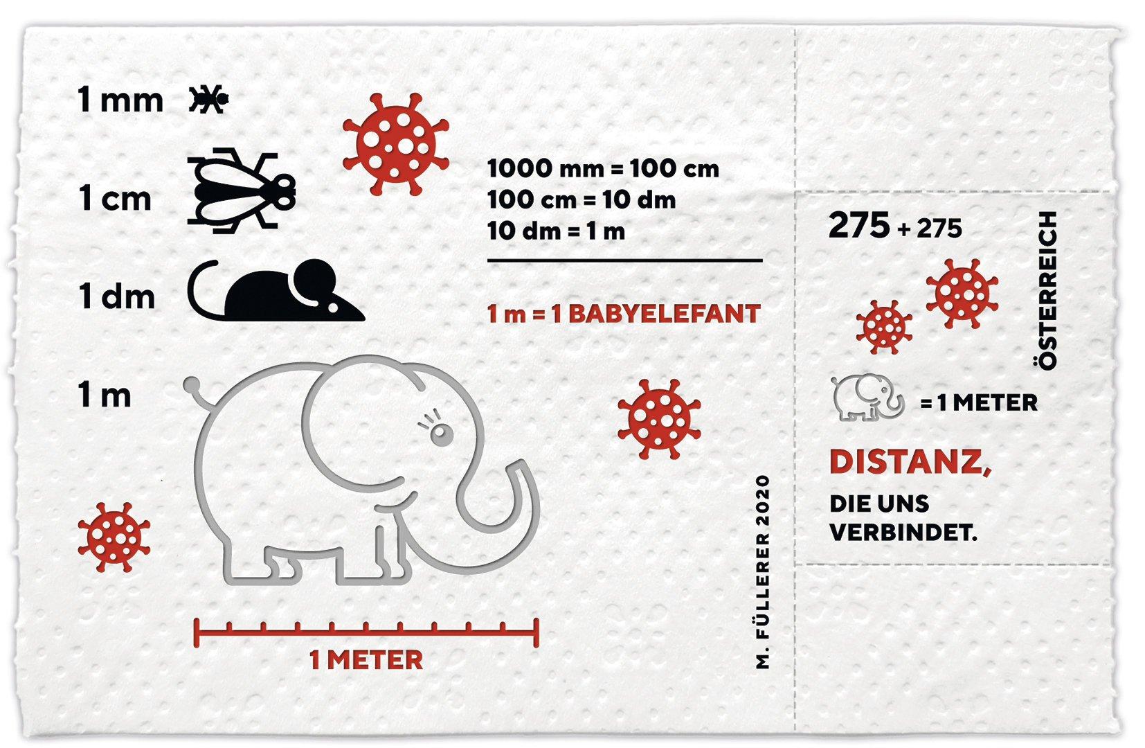 Австрія випустила марку на туалетному папері на згадку про коронавірус