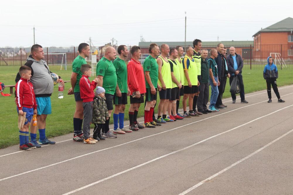 У громаді поблизу Луцька організували футбольний турнір ветеранів