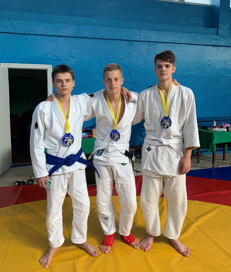 Волинські спортсмени здобули шість медалей у чемпіонаті України з джиу-джитсу