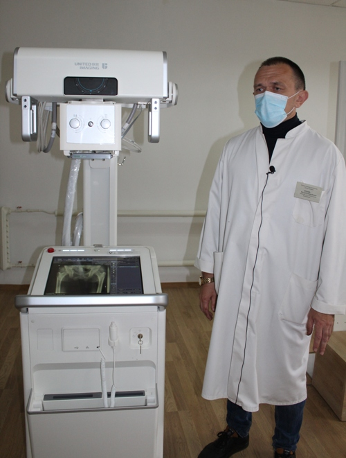 У лікарні на Волині встановили сучасне рентгенологічне обладнання