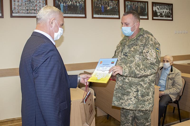 У Нововолинську вручили відзнаки з нагоди Дня захисника України