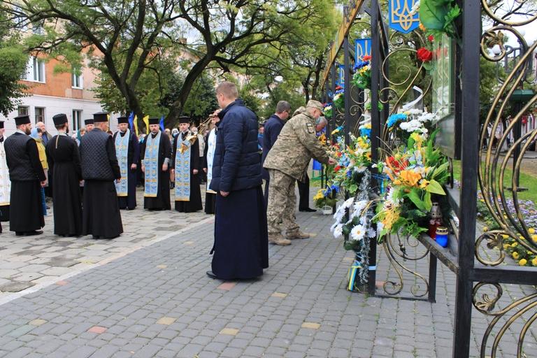 У Нововолинську вклонилися подвигу захисників України