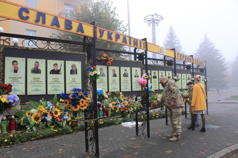 У Нововолинську вшанували річницю визволення України від нацистів