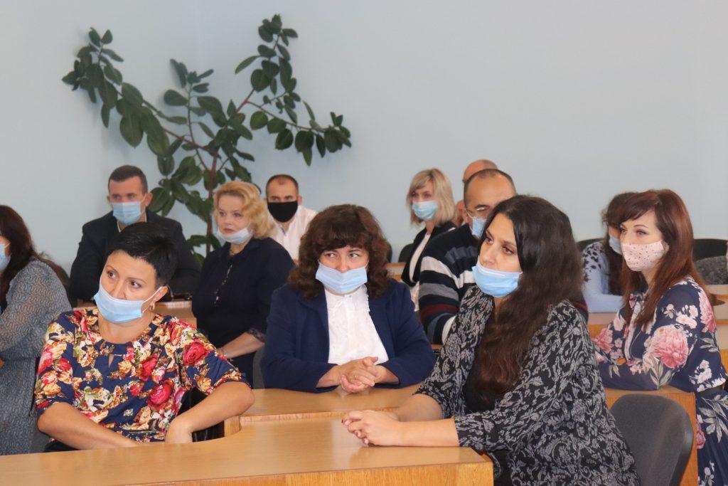 У Володимирі-Волинському привітали освітян