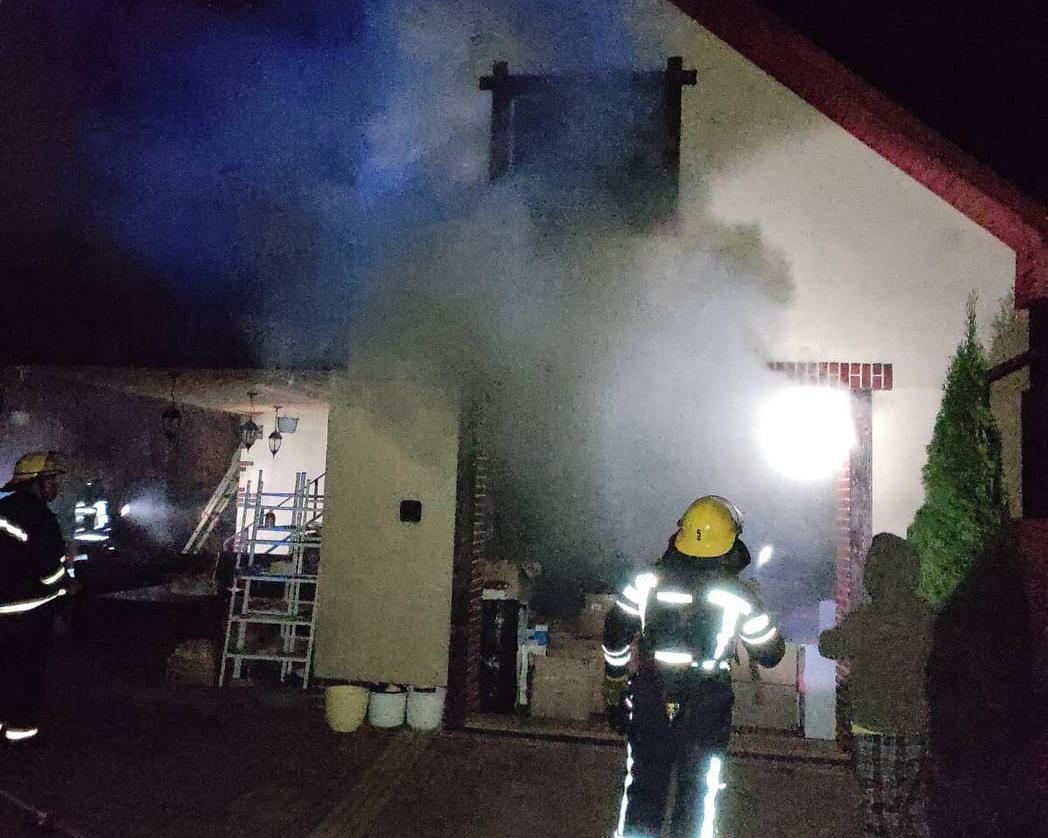У Нововолинську пожежники врятували від знищення вогнем житловий будинок