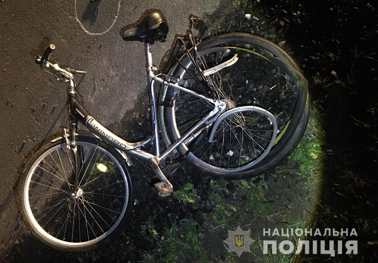 На Волині водій «BMW» збив велосипедиста