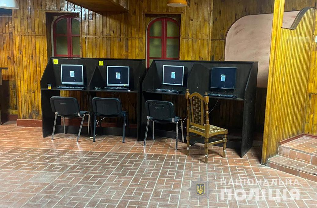 У Луцьку викрили незаконні гральні автомати