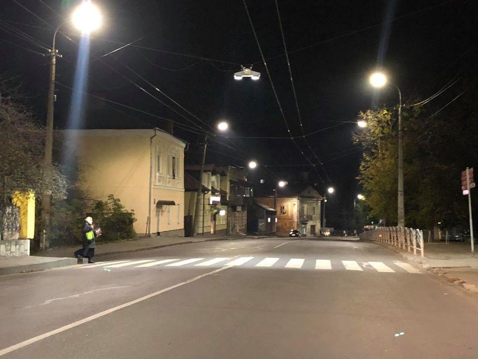 У Луцьку завершили облаштування LED-освітлення на п'яти вулицях