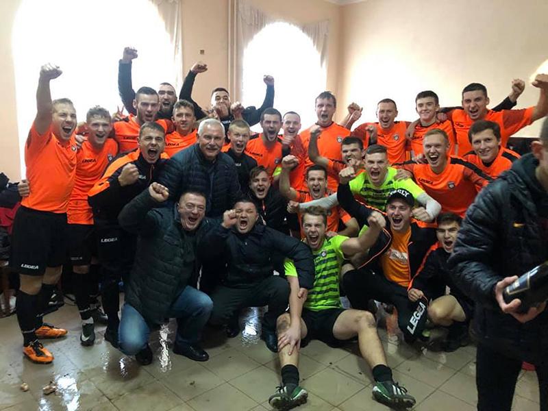Команда з Нововолинська перемогла в Чемпіонаті Волині з футболу