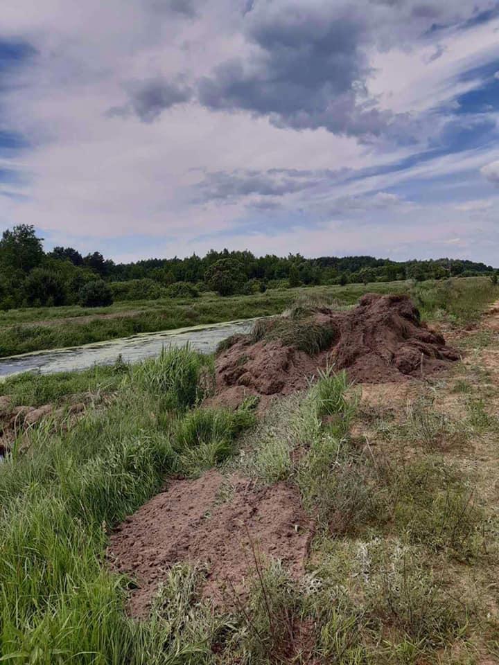 Волинянин самовільно зайняв земельну ділянку біля річки