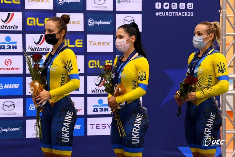Волинська спортсменка здобула бронзову медаль чемпіонату Європи з велосипедного спорту