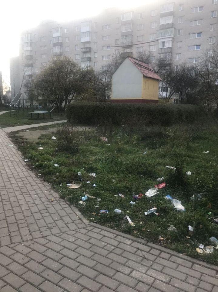 У Луцьку засмічують території навколо смітників