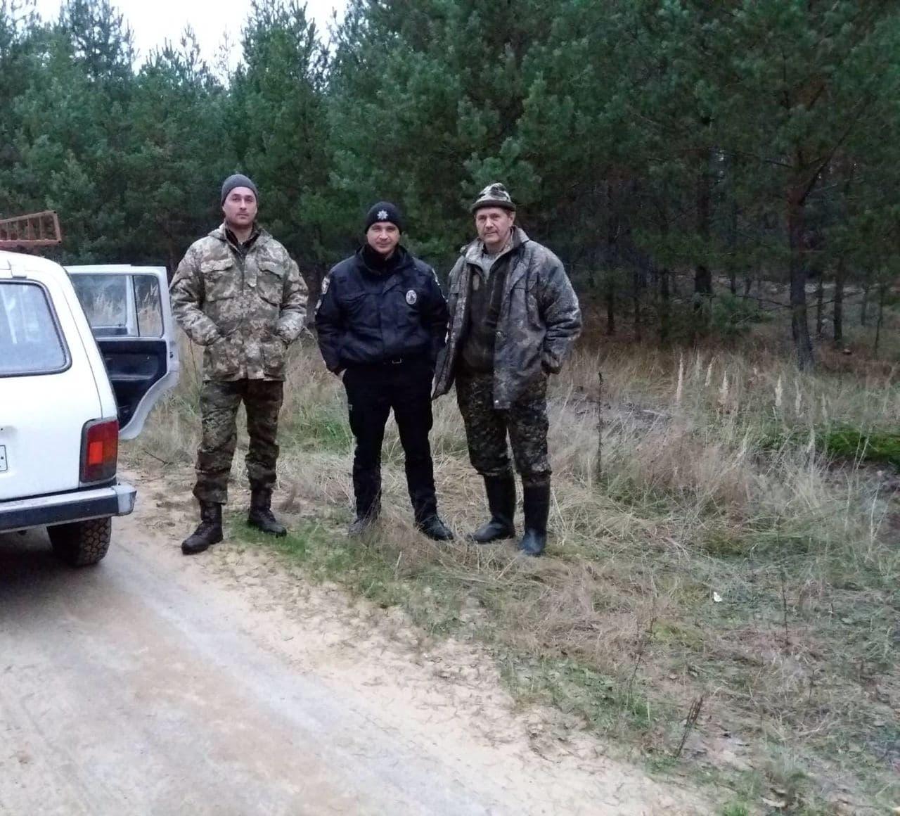 На Волині виявили чотирьох порушників полювання