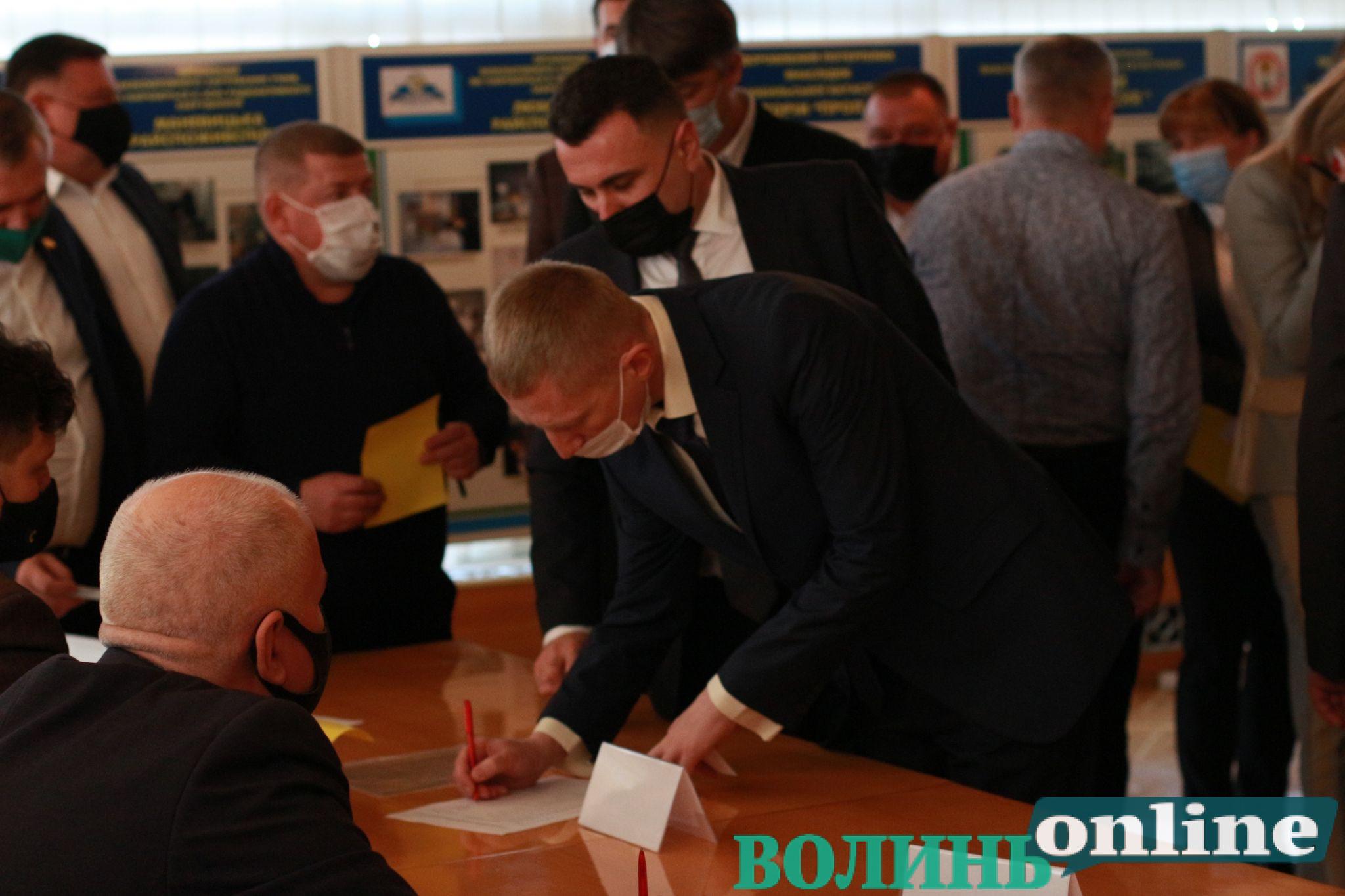 На посаду заступника голови Волиньради претендує лише один кандидат